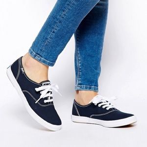 Keds Champion Sneakers Navy Canvas